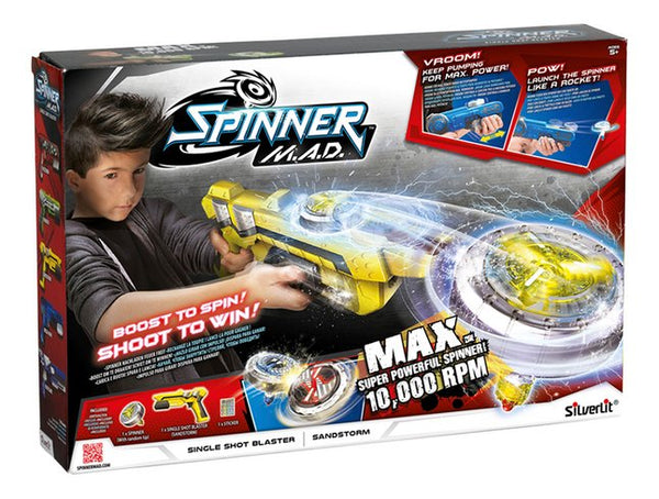NEW Spinner Mad Single Shot Blaster