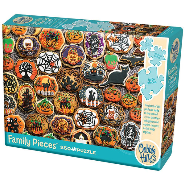 Halloween Cookies (Family 350pc)