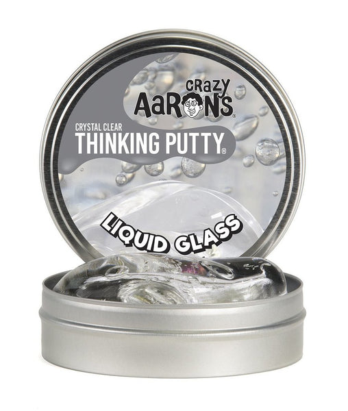 Aaron's Thinking Putty Liquid Glass - Crystal Clear