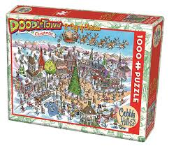 DoodleTown: 12 Days of Christmas