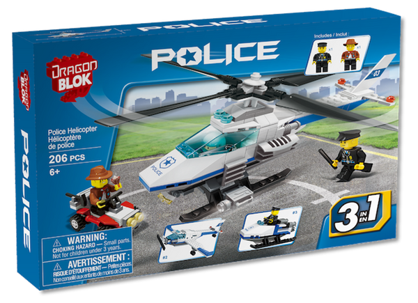 Dragon Blok - Police Helicopter
