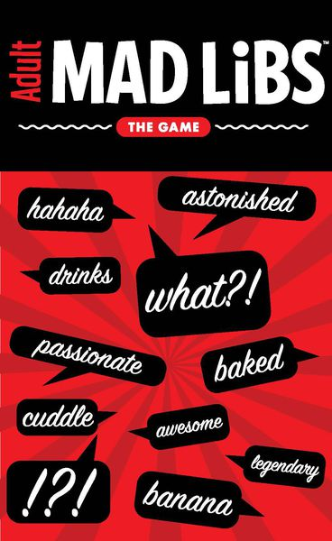 Mad Libs The Game (ADULT)