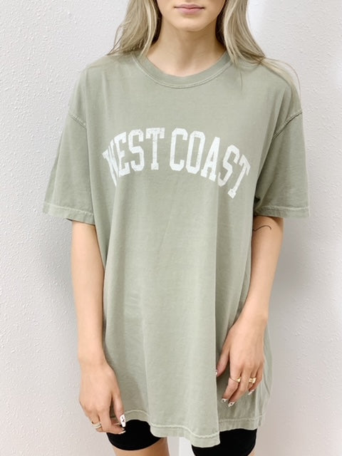 West Coast Graphic Tee - 2 Colors