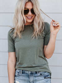 Zen Cupcake Tee - White, Black, Heather Gray, Pine, Olive
