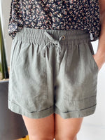 Jessie Linen Shorts - 2 Colors