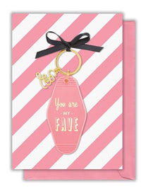 Key Chain Greeting Card - Multi