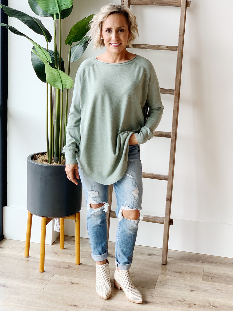 Dreamy Scoop Sweater - 5 Colors