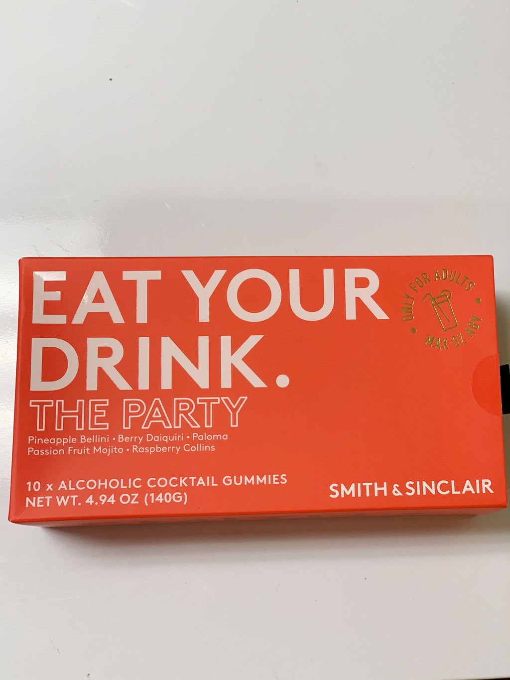 Eat Your Drink Alcoholic Candies - The Party