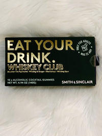 Eat Your Drink Alcoholic Gummies - Whiskey