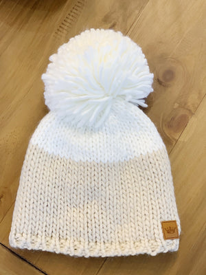 Dipped Knit Beanie - 2 Colors