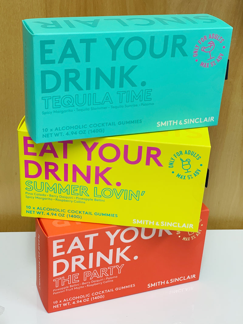 Eat Your Drink Alcoholic Candies - Tequila Time