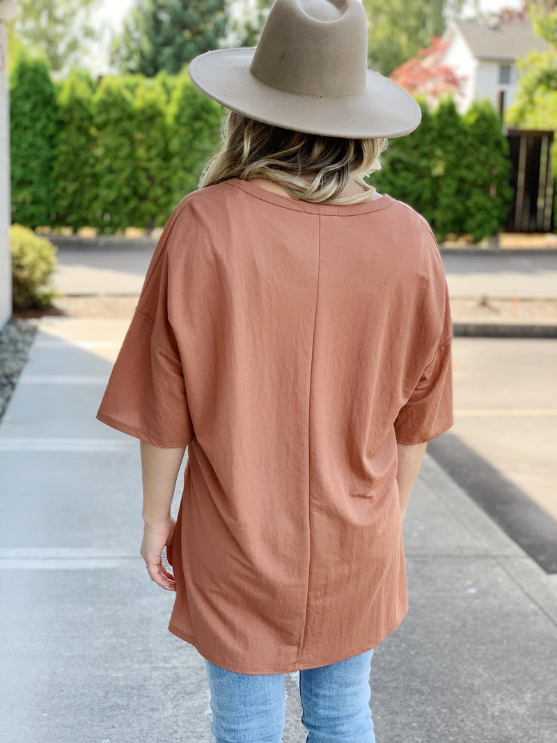 Not So Basic Tunic Tee - 2 Colors