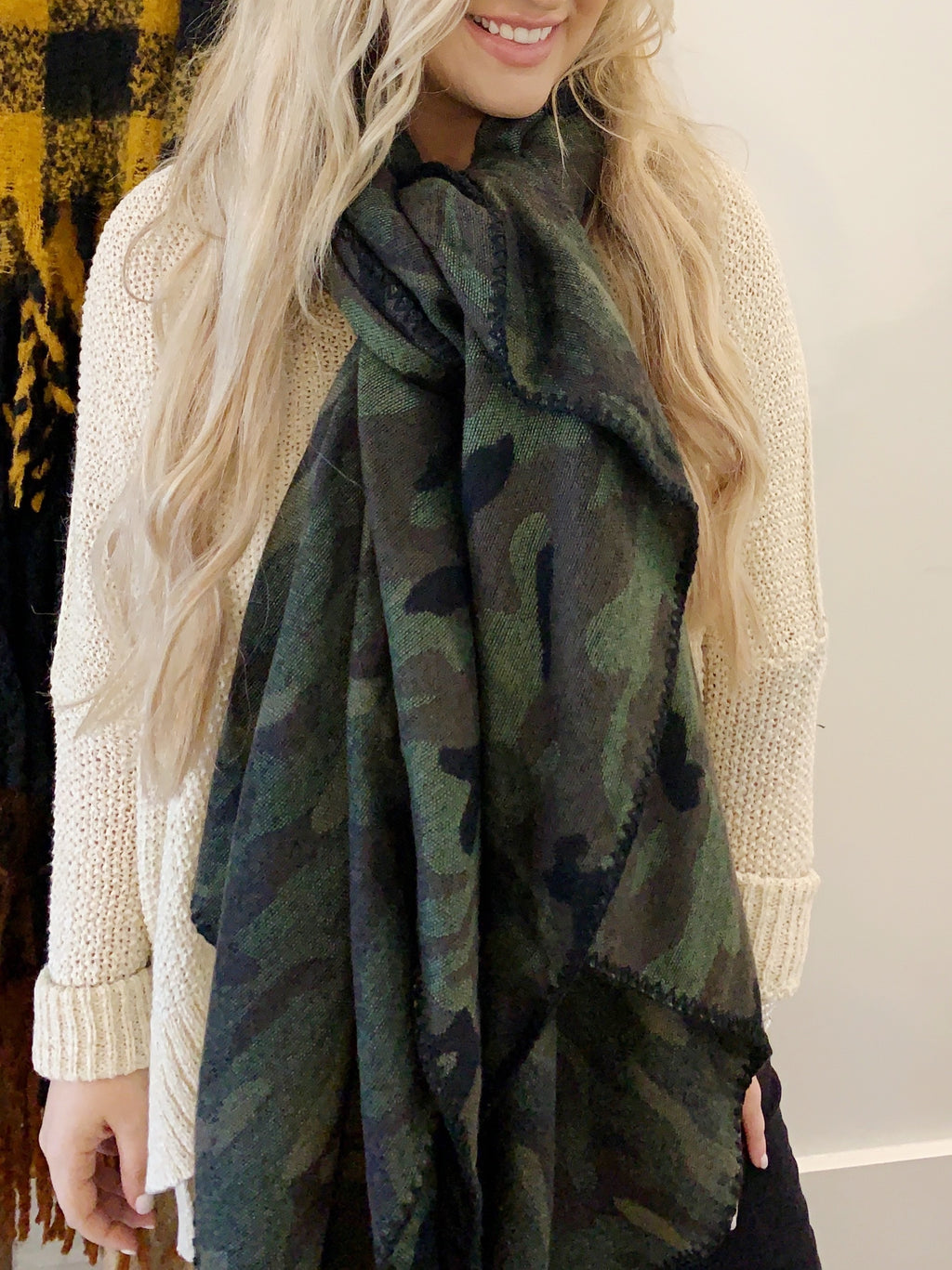 Camo Blanket Scarf