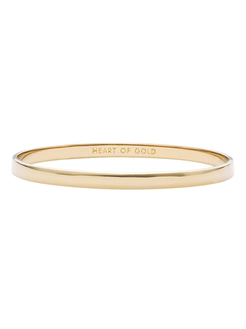 Idiom Bangles Heart Of Gold - Solid