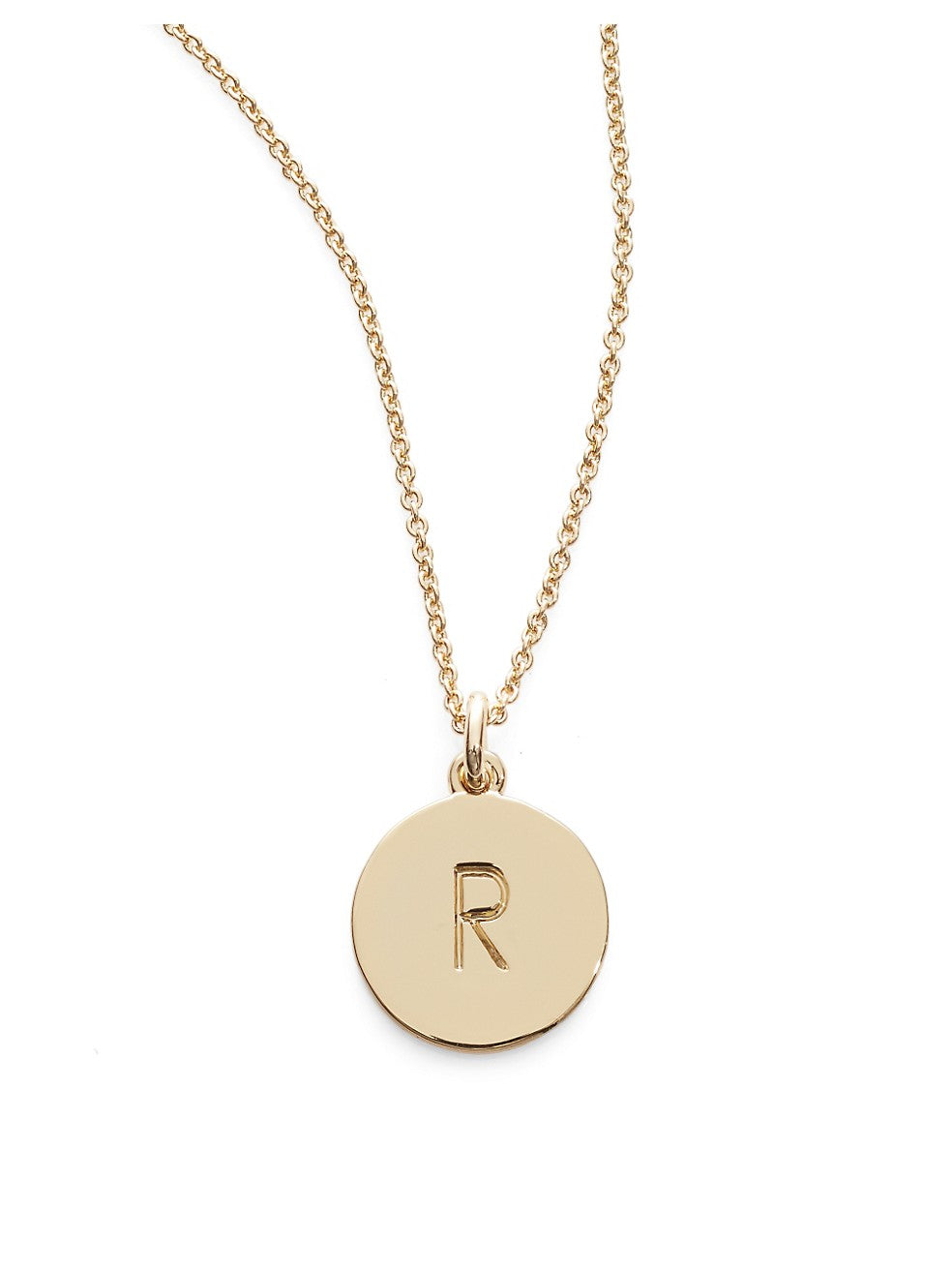 One in A Million Pendant Letter Necklace