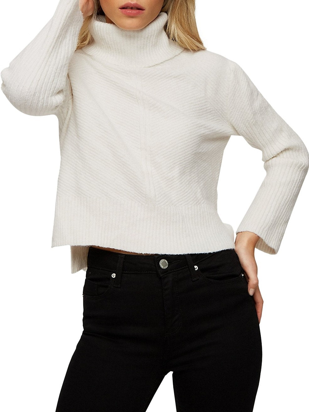 Funnelneck Sweater