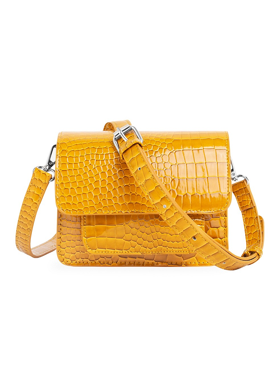 Cayman Mini Pocket Crossbody Bag