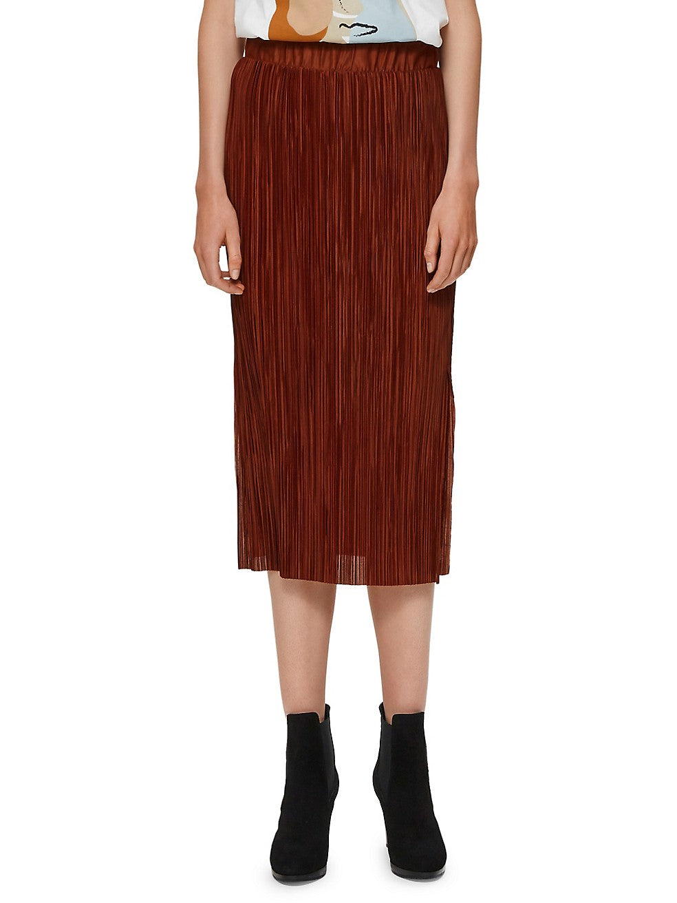 Kimi Plissé Pleated Skirt
