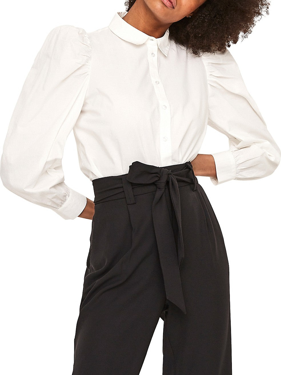 Miriam Regular-Fit Puff-Sleeve Shirt