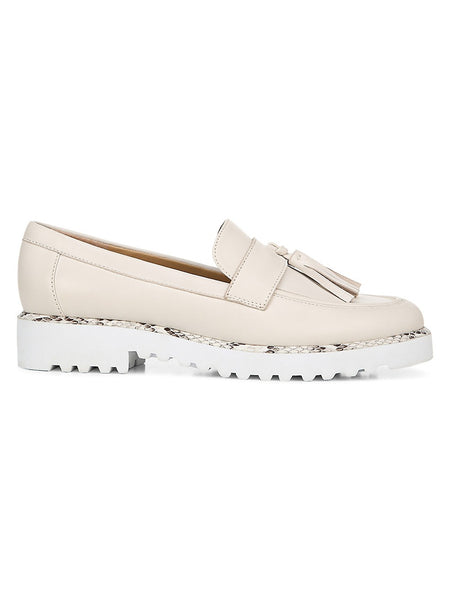 Carolynn3 Leather Platform Loafers