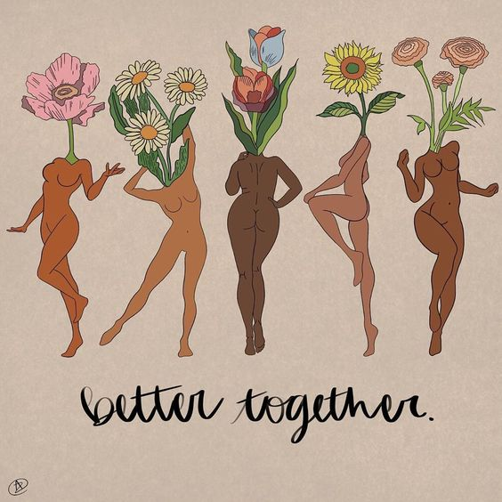 Better Together Artwork by ThoughtandColor