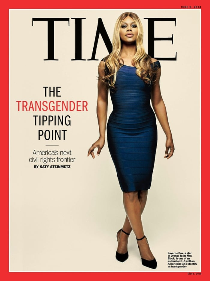 Lavern Cox on Time Magazine