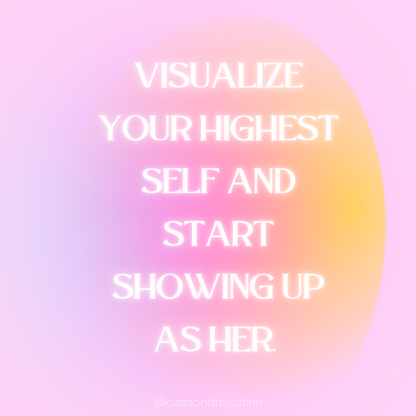 Show Up as Your Best Self. Confidence Boosters. Cassondra Justine
