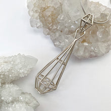 "Load image into Gallery viewer, Sterling Silver ""Dreamer Pendant"""