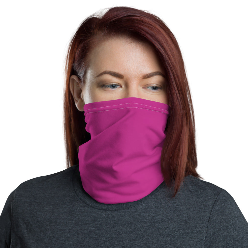 Solid Pink Face Wrap