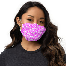 Load image into Gallery viewer, Pink Cheetah Print Face mask