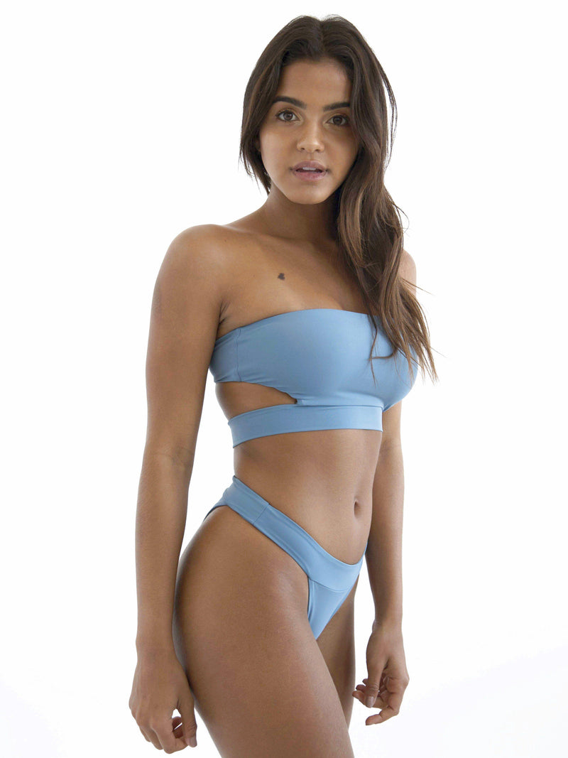 Women's leon pacific swimwear set on model