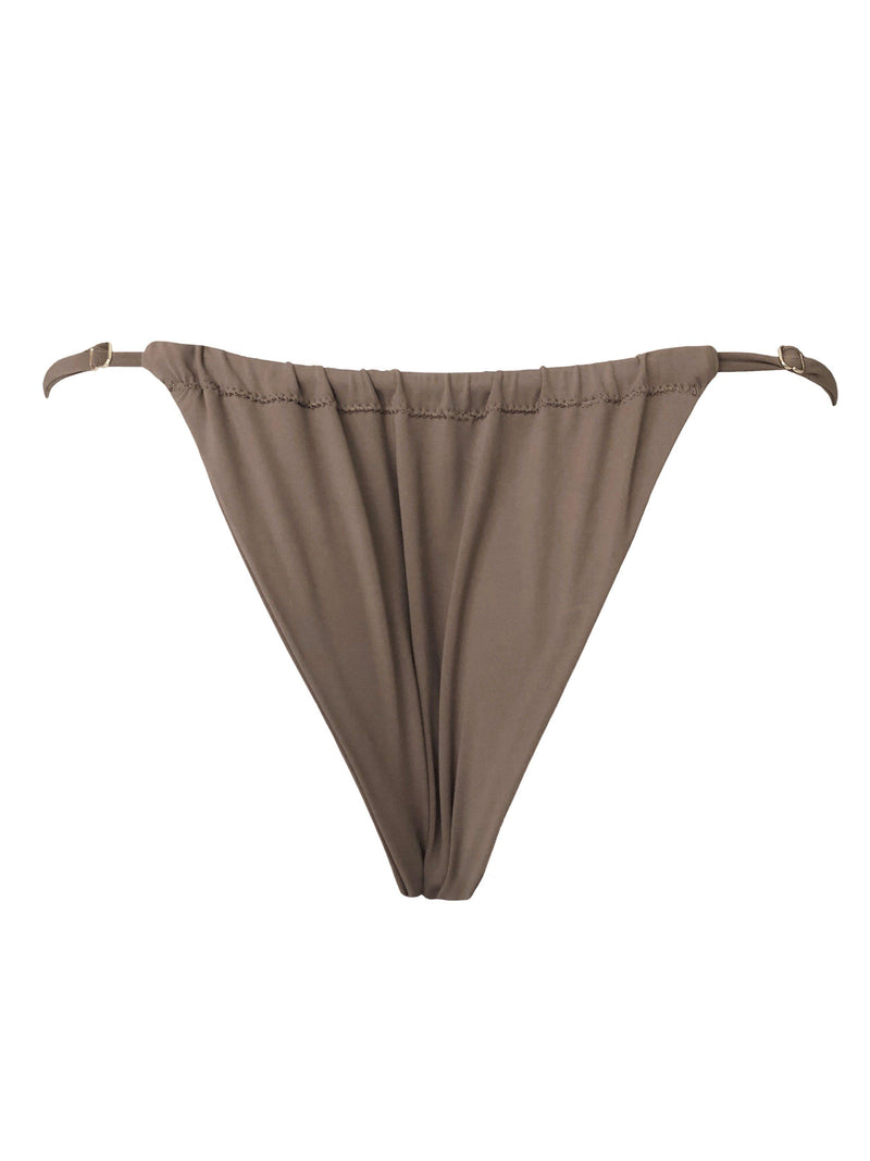 Cheeky scrunch toast bikini bottoms