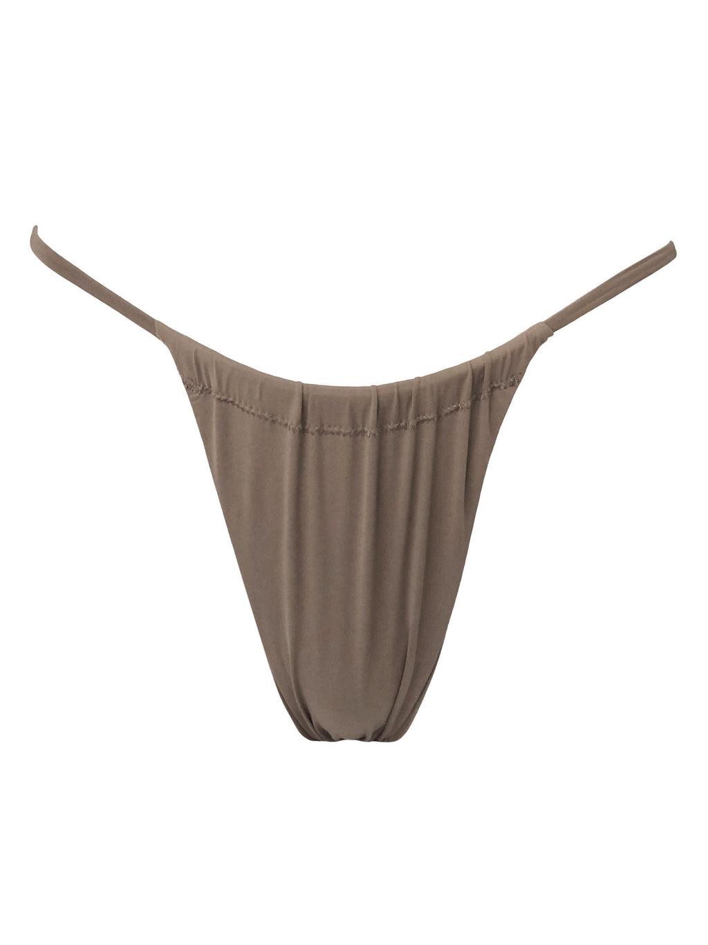 Rain adjustable toast bikini bottoms