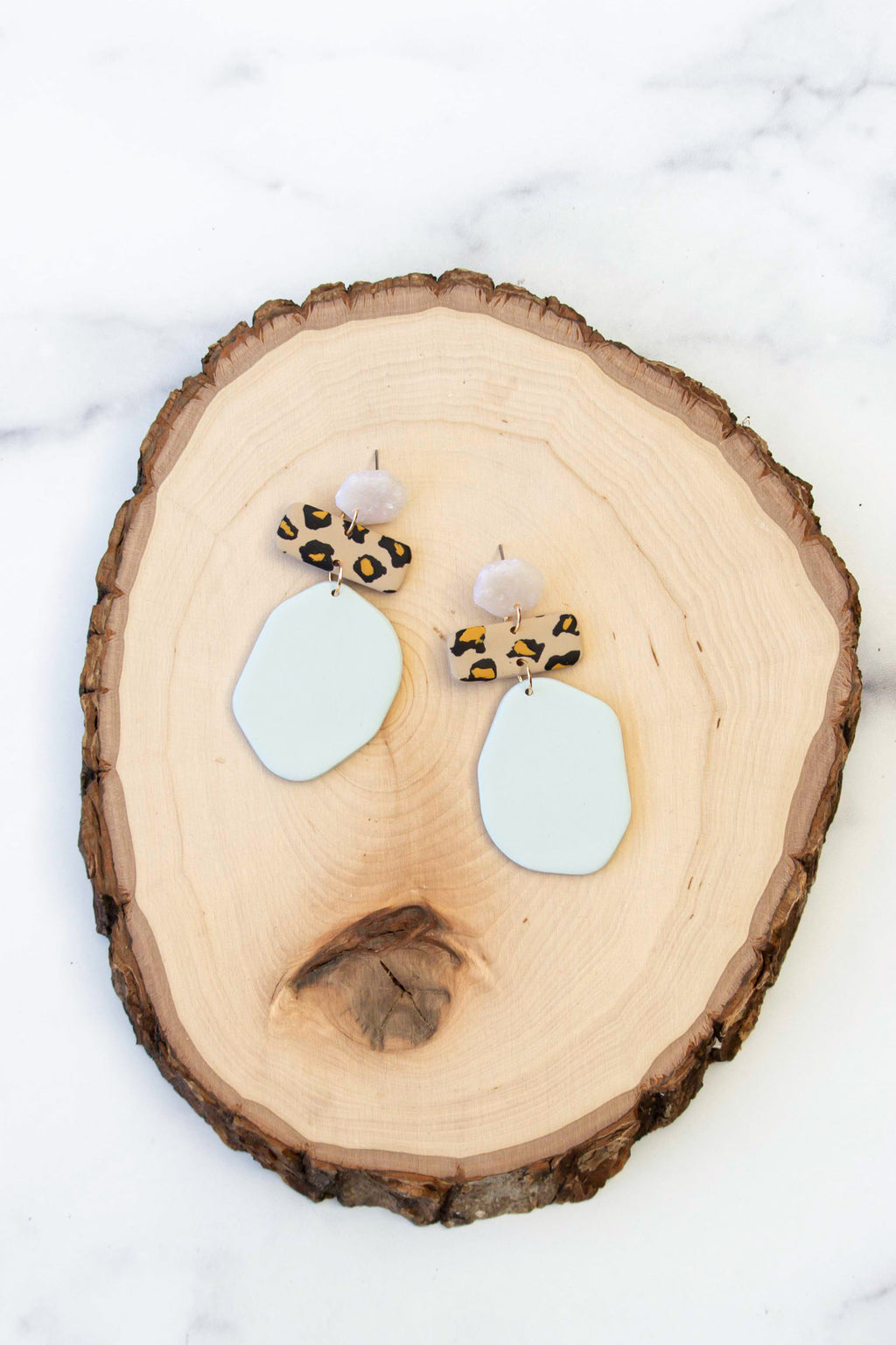 March Monroe Earrings | Aquamarine