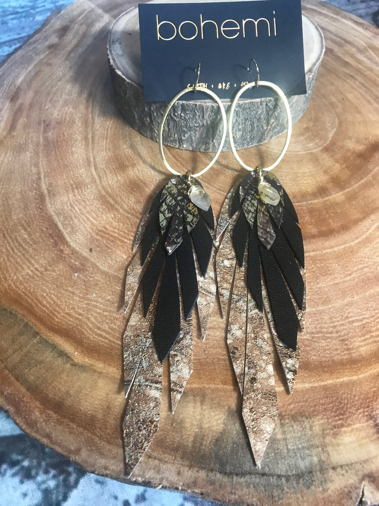 Bohemi Pluma Earrings