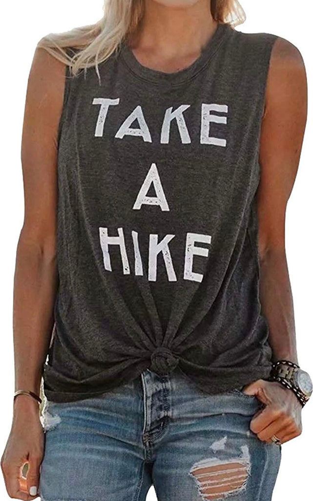Take A Hike Muscle Tee