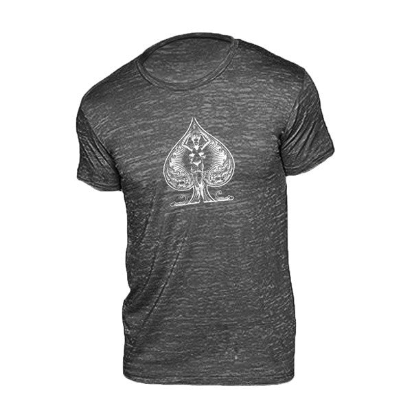 Black ace of spades t shirt david blaine official store for Bc lions t shirts