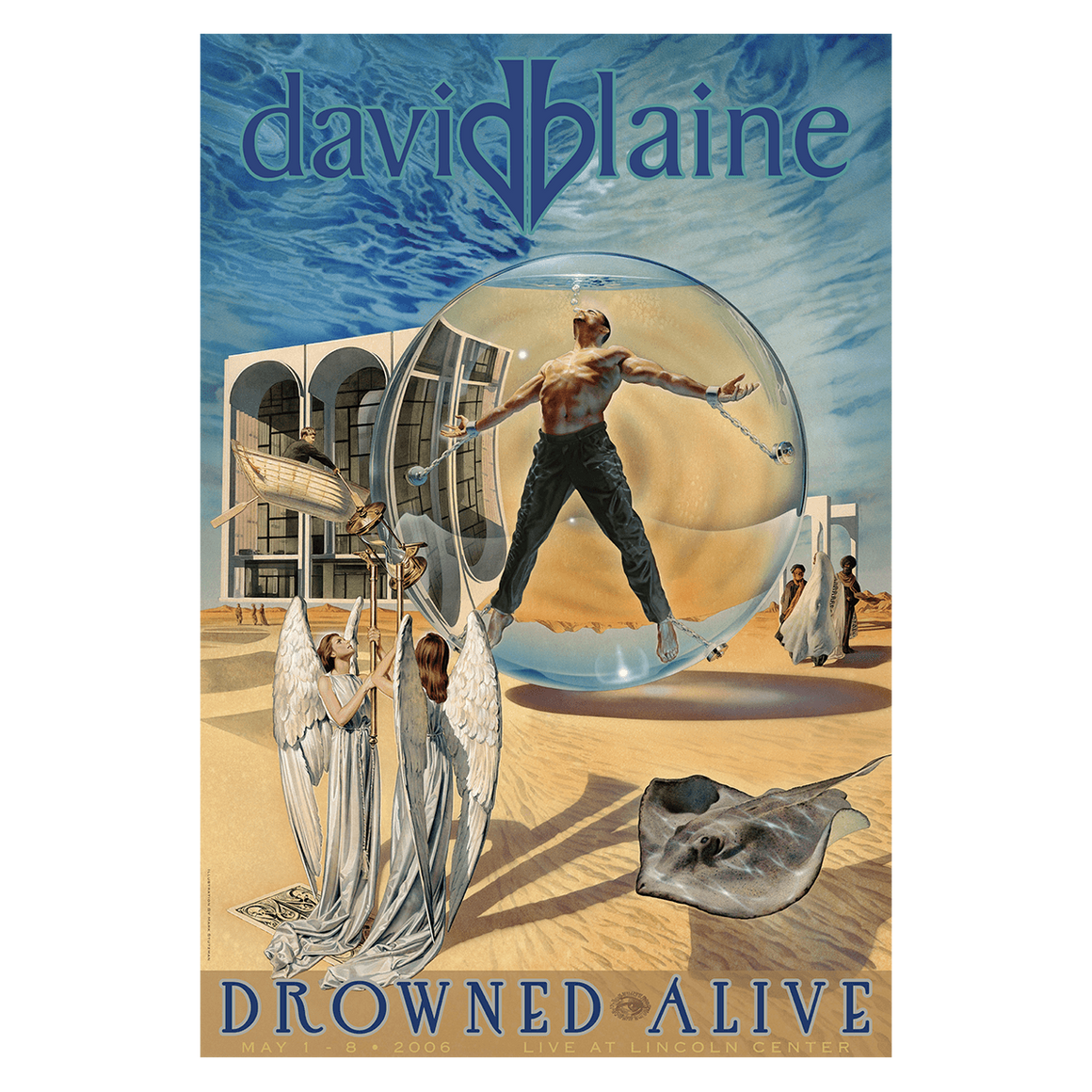 Signed Drowned Alive Poster