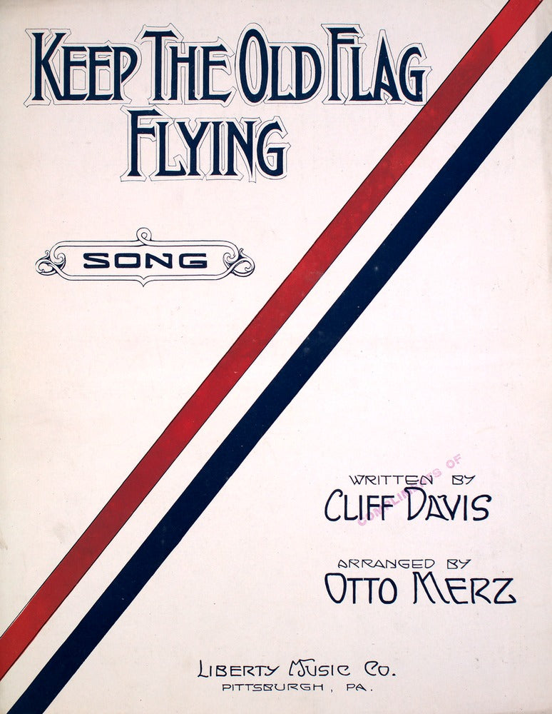 Top 5 Sheet Music Covers of World War I