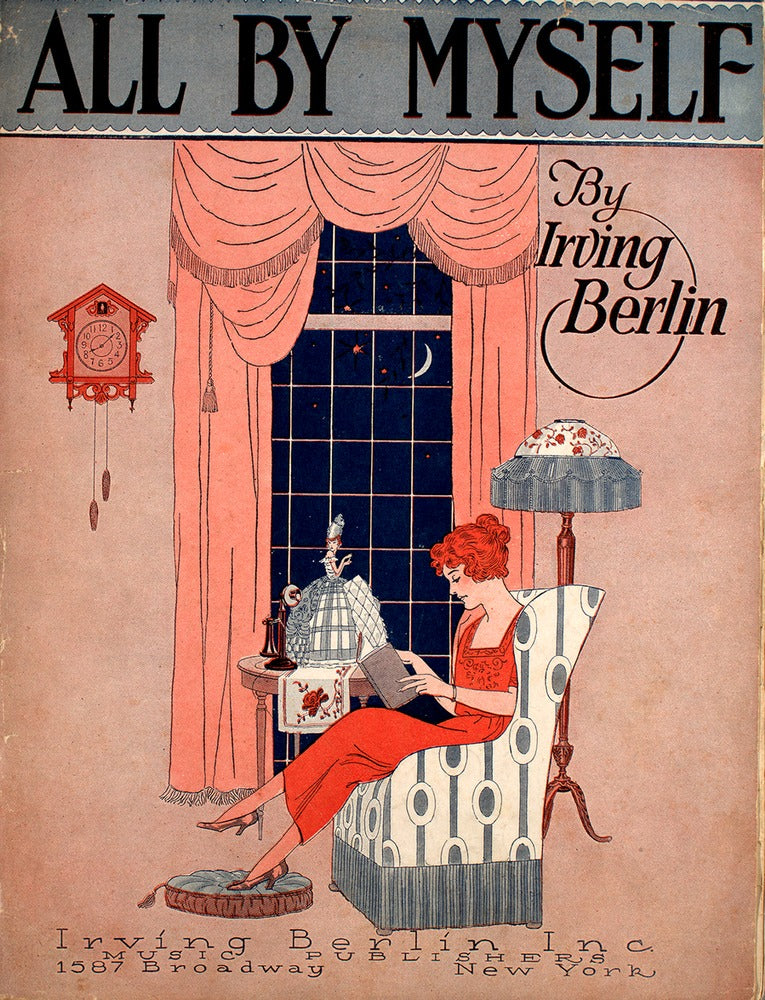 Top 5 Irving Berlin Sheet Music Covers (1913-1921)