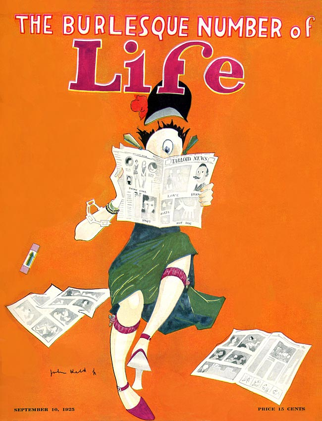 Top 5 Life Magazine Covers (1920-1929)