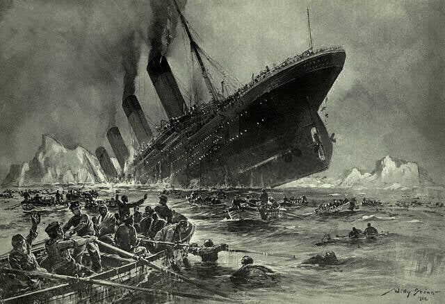 The Story of the Titanic, As Told Through Contemporary Graphics