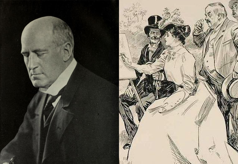 Open Fan Mail: Charles Dana Gibson
