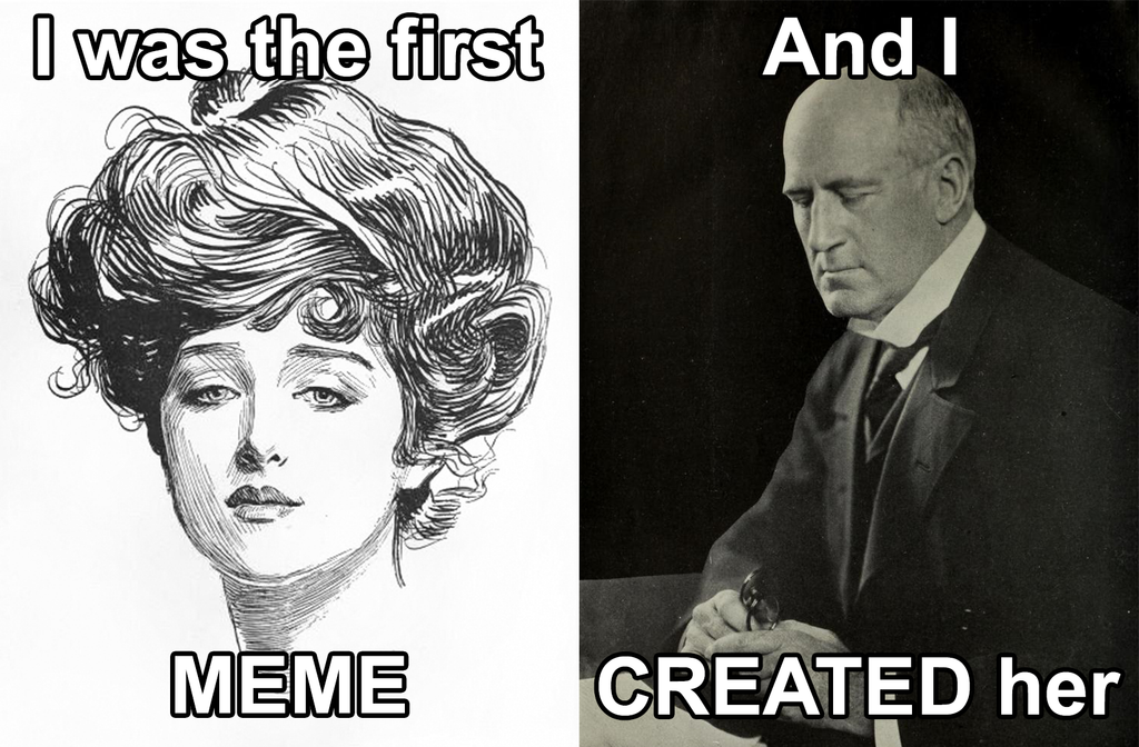 Charles Dana Gibson: Father of the Meme