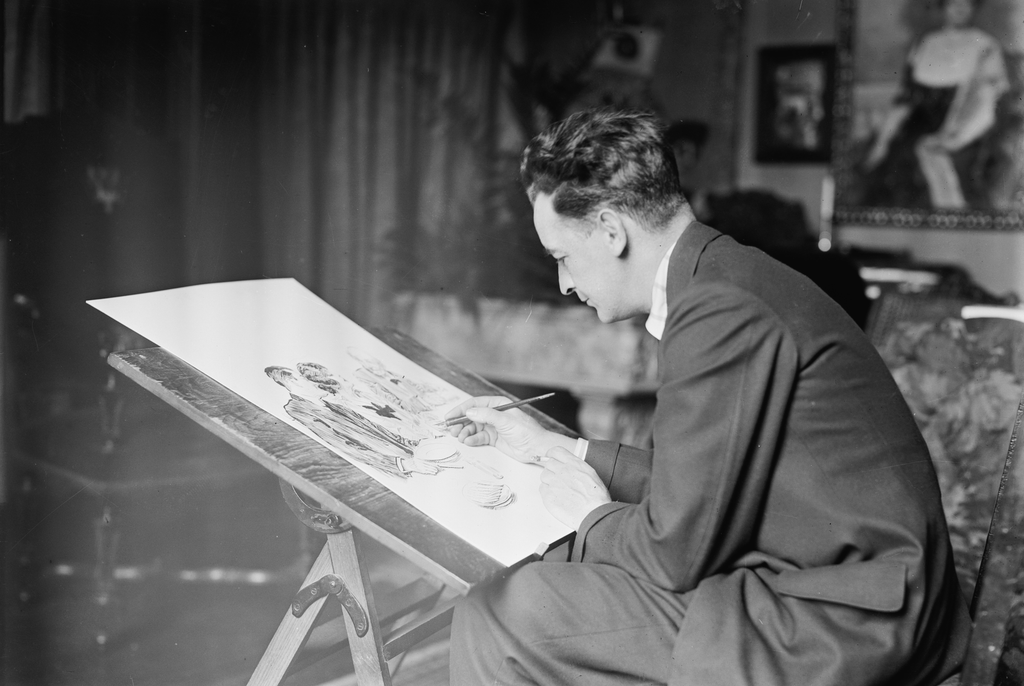Video Review: James Montgomery Flagg's Art Restitution