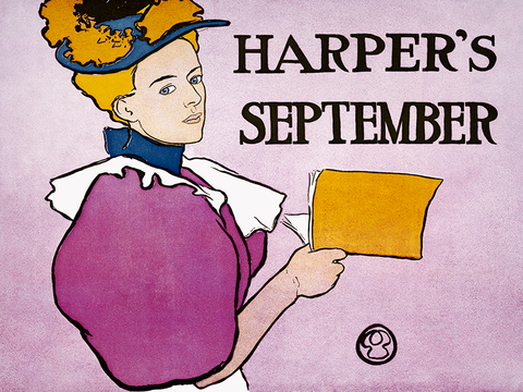 Edward Penfield - Harper's September - (Poster, 1896)
