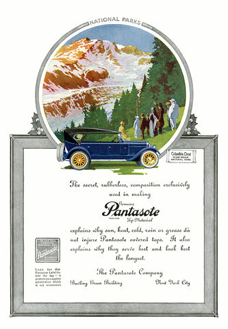 Pantasote Leather Ad - (From Century Magazine; July, 1920)
