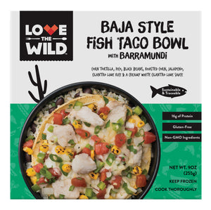 BAJA STYLE FISH TACO BOWL with Barramundi