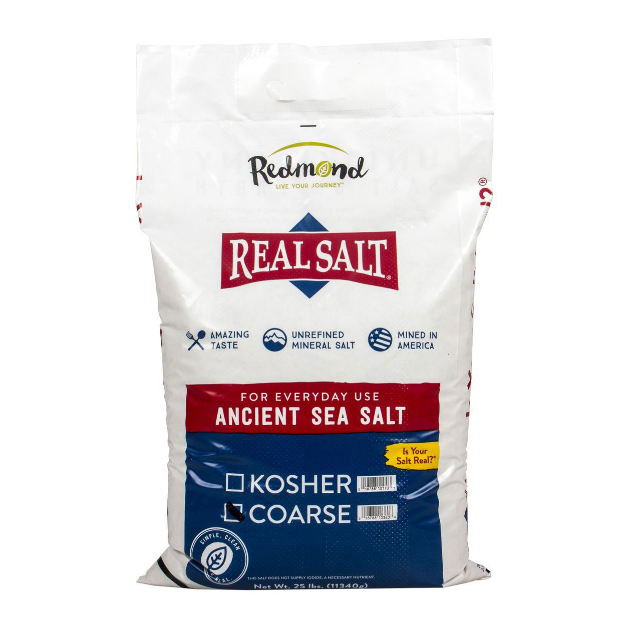 Real Salt Coarse Bulk Bag (25 lb)