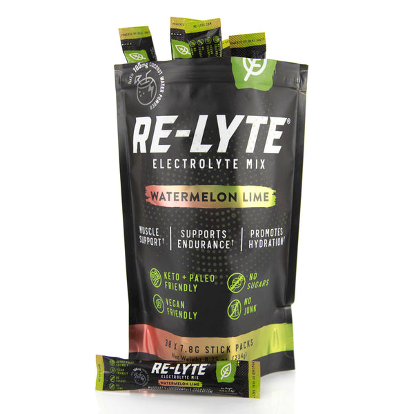 Re-Lyte Electrolyte Mix Stick Packs - Watermelon Lime (30 ct.)